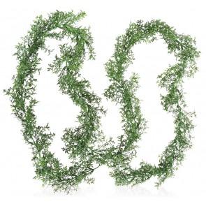 Boska Dekorationsgrün Buchsbaum-Girlande Set von 12 Stück