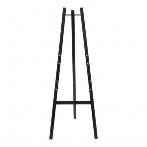 Securit® Staffelei für alle Wandkreidetafeln ab 40cm an mindestens einer Seite. Verstellbar auf drei verschiedene Höhen. Schwarz