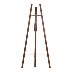 Securit® Staffelei für alle Wandkreidetafeln ab 40cm an mindestens einer Seite. Verstellbar auf drei verschiedene Höhen. Dunkelbraun
