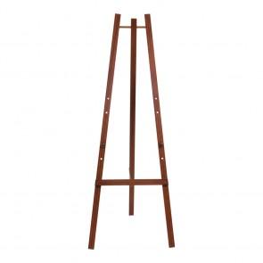 Securit® Staffelei für alle Wandkreidetafeln ab 40cm an mindestens einer Seite. Verstellbar auf drei verschiedene Höhen. Mahagoni
