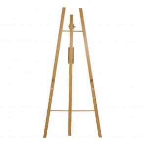 Securit® Staffelei für alle Wandkreidetafeln ab 40cm an mindestens einer Seite. Verstellbar auf drei verschiedene Höhen. Teak