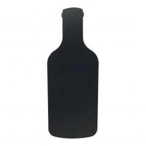 """Securit® Silhouette Kreidetafel """"BOTTLE"""" inkl. 1 Kreidestift und Wand Klettverschlusskleberstreifen"""