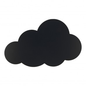 "Securit® Silhouette Kreidetafel ""CLOUD"" inkl. 1 Kreidestift und Wand Klettverschlusskleberstreifen"