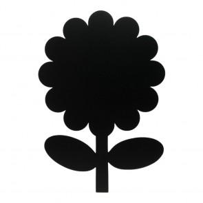 """Securit® Silhouette Kreidetafel """"FLOWER"""" inkl. 1 Kreidestift und Wand Klettverschlusskleberstreifen"""