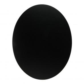 """Securit® Silhouette Kreidetafel """"OVAL"""" inkl. 1 Kreidestift und Wand Klettverschlusskleberstreifen"""