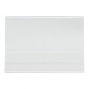 Securit® Transparenter Kartenhalter A6 Vertikal Aufsteller