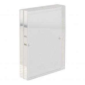 Securit® Porte-affiche acrylique comme cadre simple ou double face - A7 - 6x