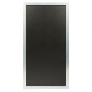 Securit® Multiboard Kreidetafel - 1 Tafel - beliebig viele Tafeln können aneinander gesteckt werden Silber