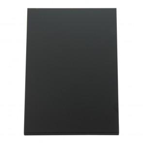 Securit® Vertikale L-Tischkreidetafel mit matter Vorder- und glänzender Vorderseite, A5 (3er Set)