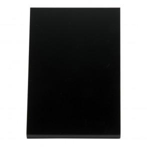 Securit® Vertikale L-Tischkreidetafel mit matter Vorder- und glänzender Vorderseite, A6 (3er Set)
