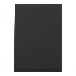 Securit® Vertikale L-Tischkreidetafel mit matter Vorder- und glänzender Vorderseite, A7 (5er Set)