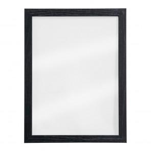 Securit® Woody Wandtafel Glas inkl. 2 Kreidestiften (Schwarz & Weiß) und Wandaufhängung 40x30 cm