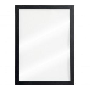 Securit® Woody Wandtafel Glas inkl. 2 Kreidestiften (Schwarz & Weiß) und Wandaufhängung 60x40 cm