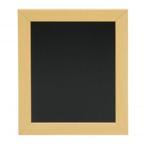 Securit® Woody Wandtafel Teak inkl. 1 Kreidestift und Wandaufhängung 20-24
