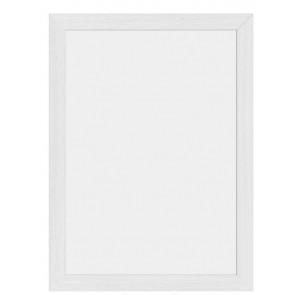 Securit® Woody Wandtafel Weiß inkl. 2 Kreidestiften (Schwarz & Gold) und Wandaufhängung 30x40 cm
